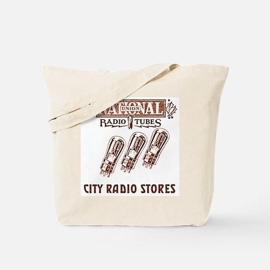 National Radio Tubes Tote Bag