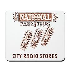 National Radio Tubes Mousepad