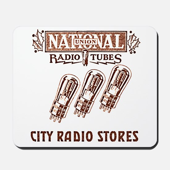 National Radio Tubes Mousepad