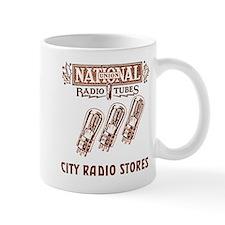 National Radio Tubes Mug