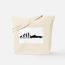 Racer Evolution Tote Bag