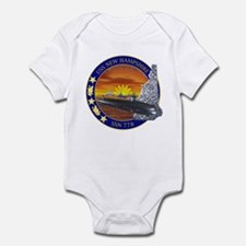 SSN 778 USS New Hampshire Infant Bodysuit