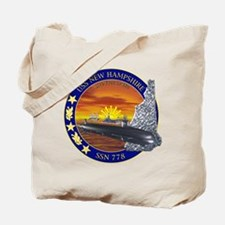 SSN 778 USS New Hampshire Tote Bag