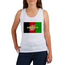 Afghanistan Flag Extra Women's Tank Top