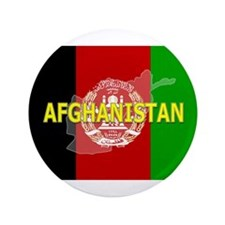 """Afghanistan Flag Extra 3.5"""" Button"""
