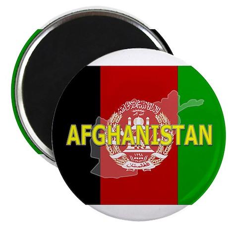 Afghanistan Flag Extra Magnet