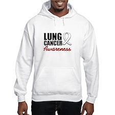 Lung Cancer Awareness Jumper Hoody