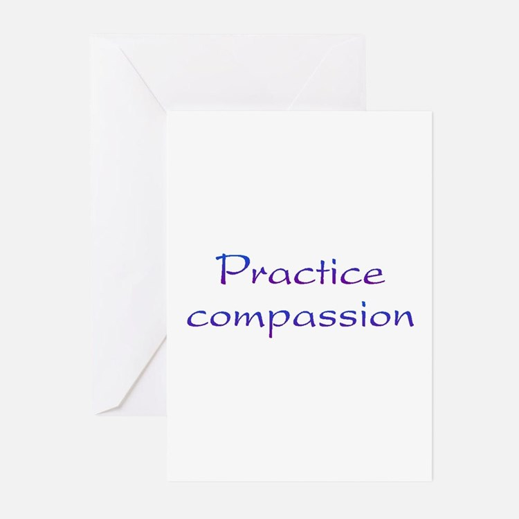 Practice Compassion Greeting Cards (Pk of 10)