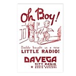 Davega Postcards (Package of 8)