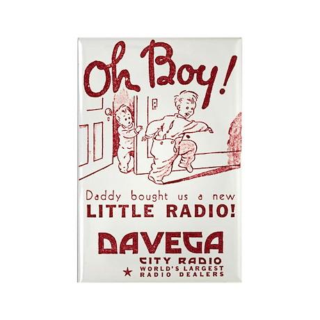 Davega Rectangle Magnet (10 pack)
