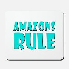 Amazons Rule Mousepad