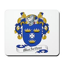 MacArthur Family Crest Mousepad