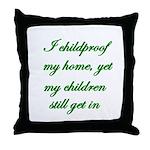 PARENTING HUMOR Throw Pillow