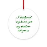 PARENTING HUMOR Ornament (Round)