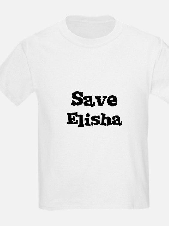 Save Elisha Kids T-Shirt