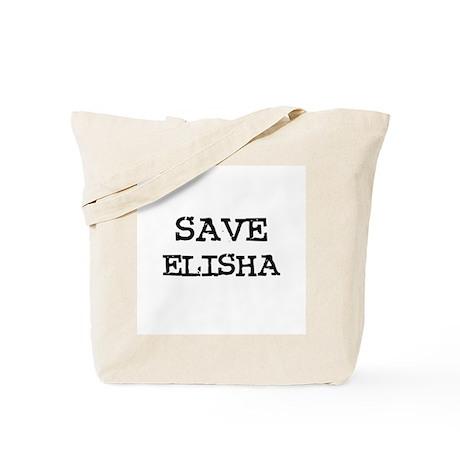 Save Elisha Tote Bag