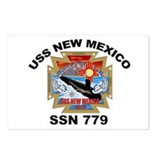 SSN 779 USS New Mexico Postcards (Package of 8)