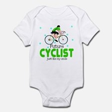Future Cyclist like Uncle Baby Infant Bodysuit