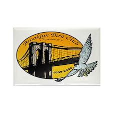 Brooklyn Bird Club Rectangle Magnet