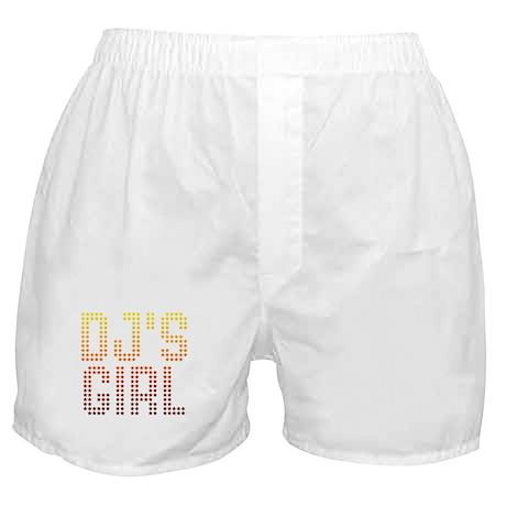 DJ's Girl Boxer Shorts