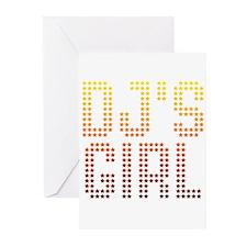 DJ's Girl Greeting Cards (Pk of 10)