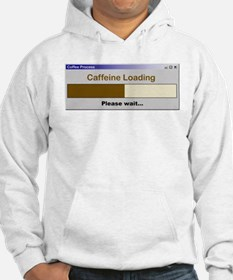 Caffeine Loading Please Wait Jumper Hoody