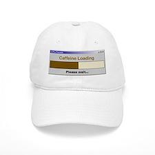 Caffeine Loading Please Wait Baseball Cap