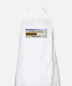 Caffeine Loading Please Wait BBQ Apron
