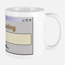 Caffeine Loading Please Wait Mug
