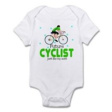 Future Cyclist like Aunt Baby Infant Bodysuit