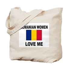 Romanian Women Love Me Tote Bag