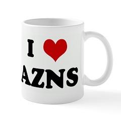 I Love AZNS Mug