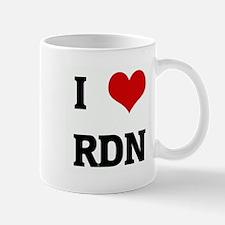I Love RDN Mug