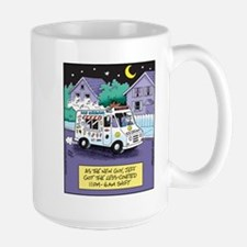 Ice Cream Truck Night Shift Large Mug