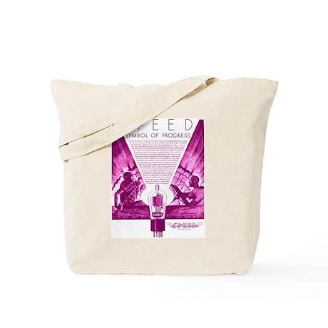 Speed Tubes Tote Bag