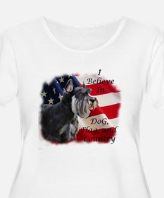Dog, Flag, and Country T-Shirt