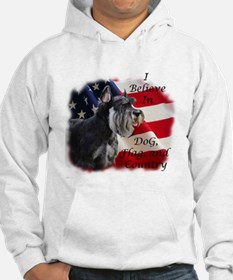 Dog, Flag, and Country Hoodie