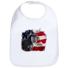 Dog, Flag, and Country Bib