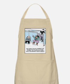 Cubicle Workplace Clown BBQ Apron