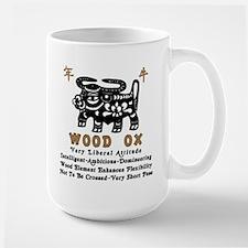 Wood Ox Large Mug