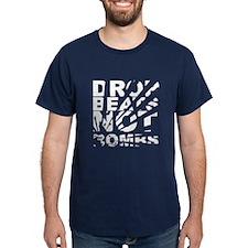 Drop Beats, Not Bombs Explosion T-Shirt