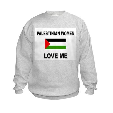 Palestinian Women Love Me Kids Sweatshirt
