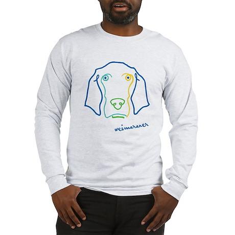 Picasso Weim! Long Sleeve T-Shirt