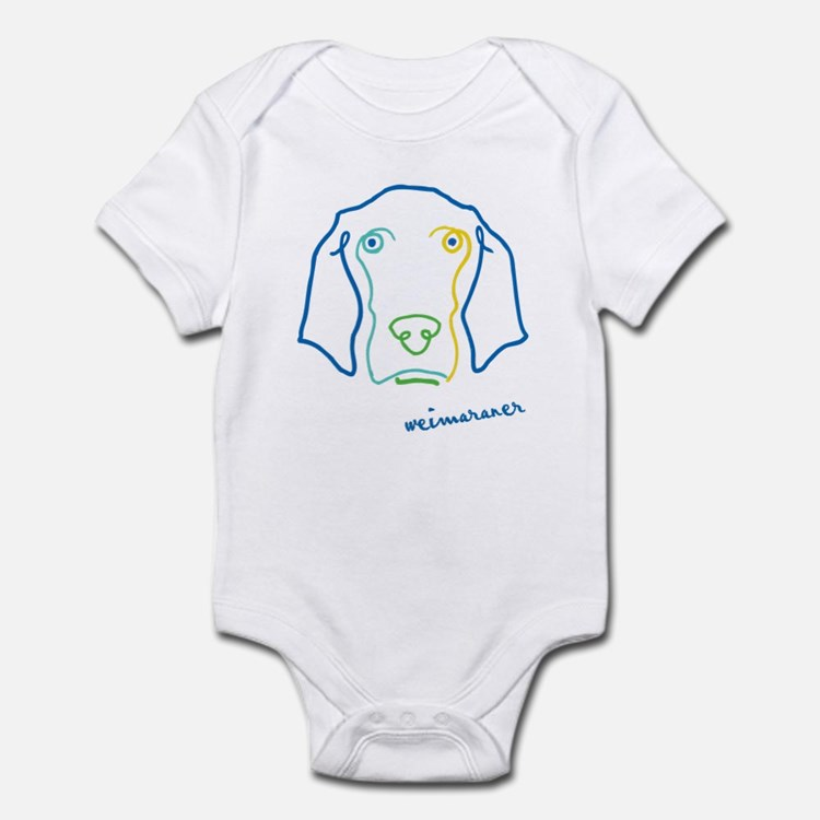 Picasso Weim! Infant Bodysuit