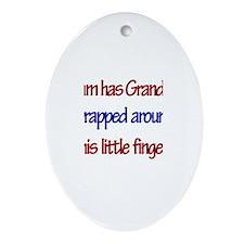 Liam Has Grandpa Oval Ornament