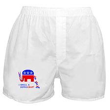 I Smell A Democrap - Boxer Shorts