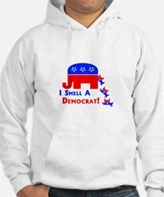 I Smell A Democrat Hoodie