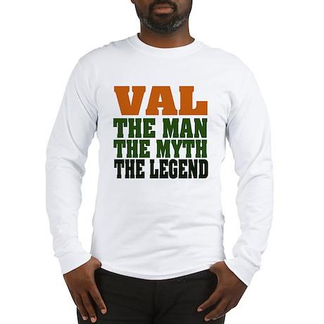 Val - The Legend Long Sleeve T-Shirt