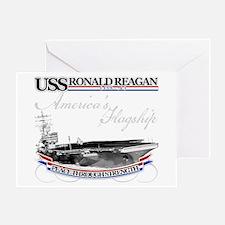 USS Ronald Reagan Greeting Card
