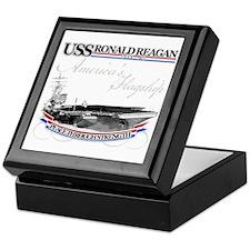 USS Ronald Reagan Keepsake Box